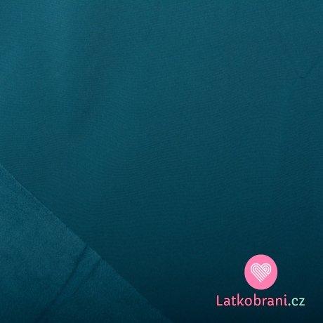 Softshell petrolejově modrý s fleecem