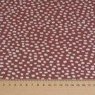 Úplet potisk nepravidelné čtverečky na růžové mauve, BIO