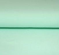Jednobarevný úplet mint světlejší 215g