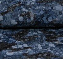 Teplákovina kamufláž šedo-modrá