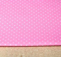 Úplet drobné puntíky na růžové dětské 2mm