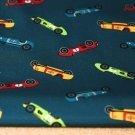 Softshell barevná autíčka na petrolejové