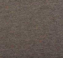 Teplákovina počesaná tmavě šedé melange s barevnými nopky