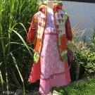 Úplet potisk princezna Anneli s pohádkovým jednorožcem na růžové