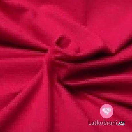 Jednobarevná teplákovina sangrie 240 g
