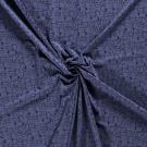 Úplet potisk zvířátka v davu na inkoustově modré