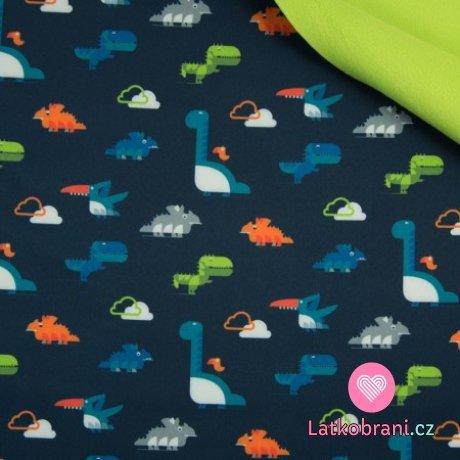 Softshell dinosauři na námořnické modré