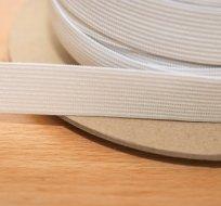 Pruženka plochá bílá 20 mm