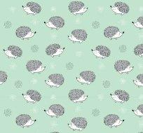 Úplet ježeček na mátové