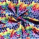 Softshell barevné šupinky s fleecem