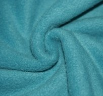 Polar fleece modrá petrolej světlejší antipilling