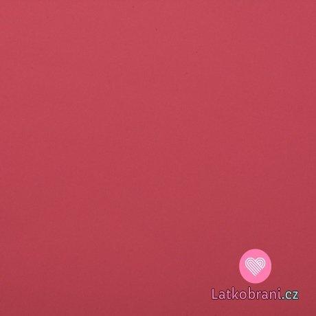 Softshell tmavě lososově růžový s fleecem
