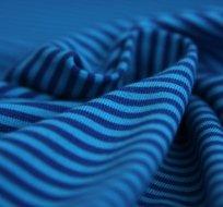 Úplet proužky modré s královsky modrou (malé)