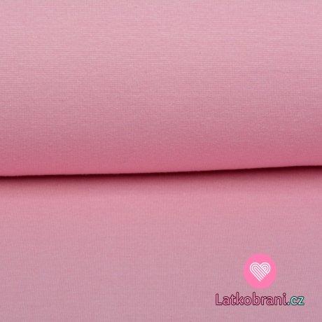 Náplet jednobarevný růžový
