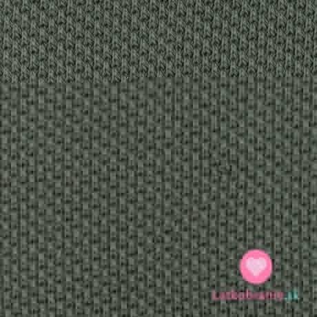 Svetrovina khaki zelená, oboustranná