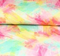 Teplákovina akvarelová barevná