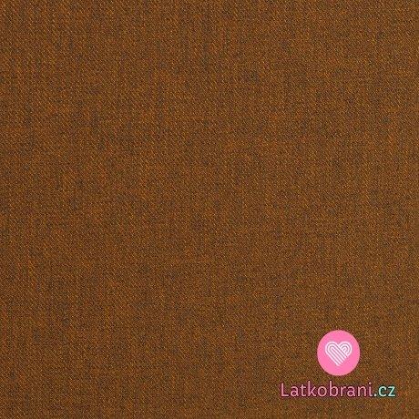 Softshell cihlový melír s fleecem
