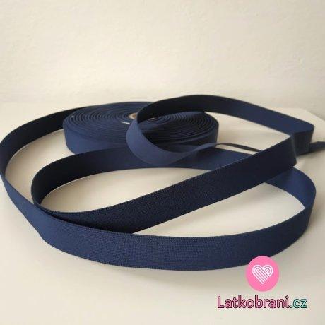 Pruženka barevná tmavě modrá navy 25 mm