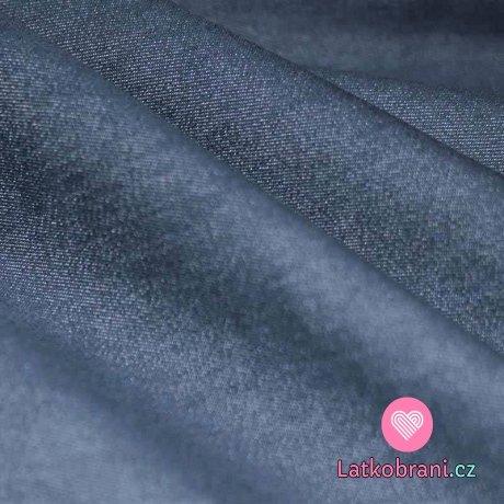 Jeans / Denim strečová námořnicky modrá