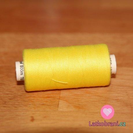 Nitě hagal - žlutá sluníčková 500 m (14x2)