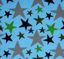 Úplet hvězdy čtyř barev na modré -ZBYTEK