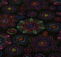 Warmkeeper zářivé květy na černé
