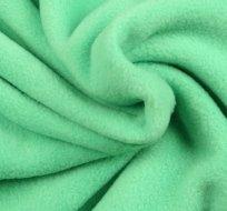 Polar fleece antipiling mintově zelená