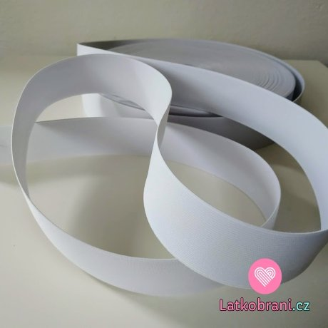 Pruženka bílá 40 mm