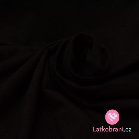 Úplet jednobarevný černý 160 g
