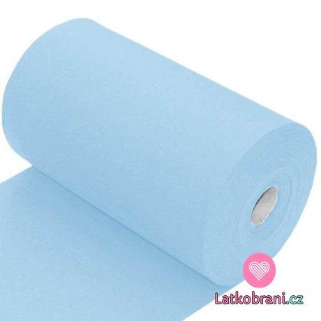 Náplet hladký světlá dětská modrá 260 g