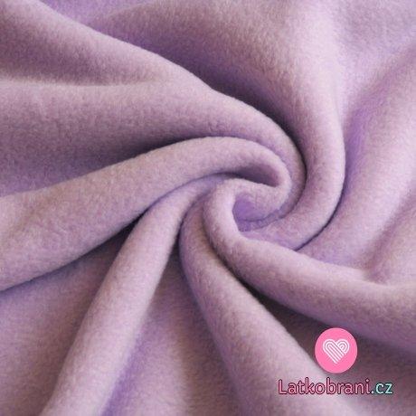 Polar fleece fialová šeřík (sv.) antipilling