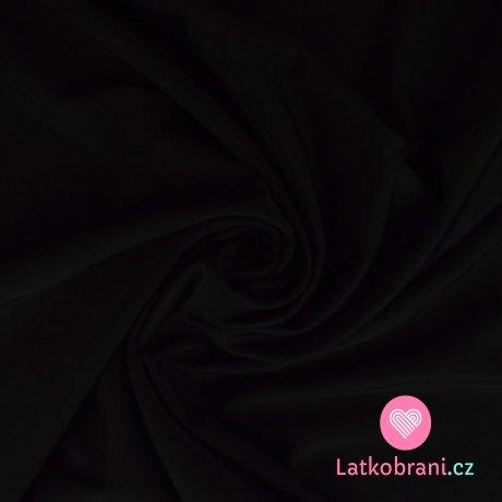 Plavkovina (lycra) jednobarevná černá
