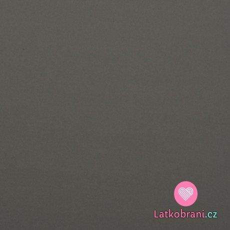 Softshell pružný šedý antracitový s fleecem