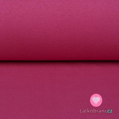 Náplet jednobarevný růžový fuchsiový