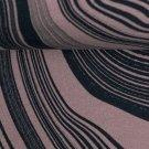 Teplákovina s příměsí modalu potisk abstraktní vrstvy na růžové