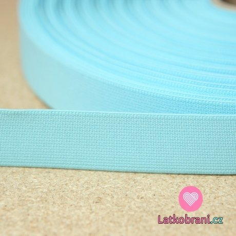 Pruženka barevná modrá baby 25mm