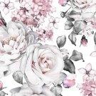 Úplet potisk bílé růže