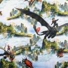 Úplet potisk Jak vycvičit draka Bezzbubka se Škyťákem v oblacích