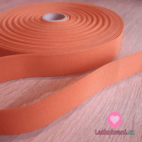 Pruženka barevná oranžová 25 mm 2