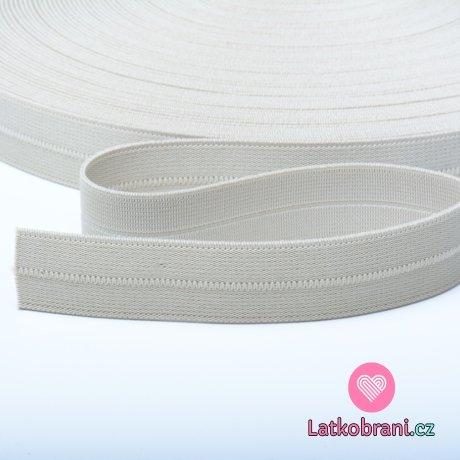 Pruženka půlená béžová 20 mm