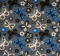 Softshell šedý motýlek s fleecem