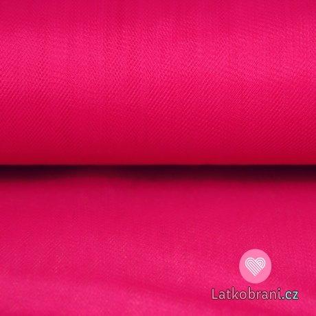Jemný tyl růžový fuschsie