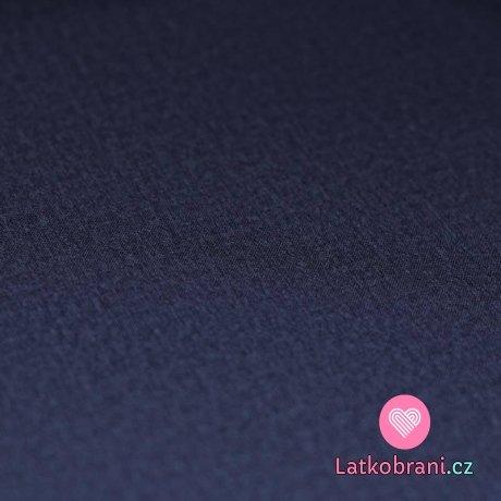 Softshell zimní strečový džínová námořnická modrá