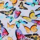 Úplet potisk pestré motýli a jejich stíny