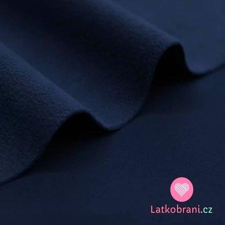 Softshell strečový zimní tmavě modrý