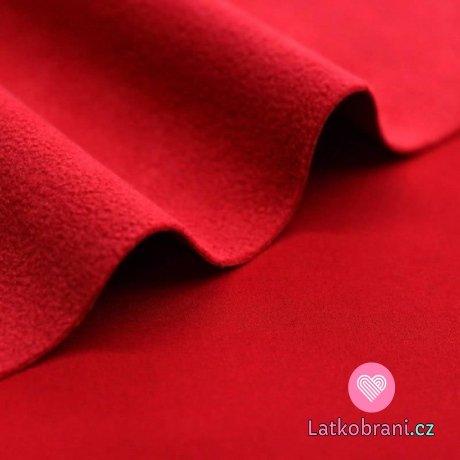 Softshell zimní strečový červený