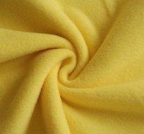Polar fleece žlutá antipilling