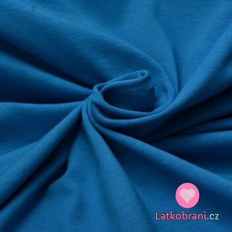 Úplet jednobarevný alpská modrá 160 g