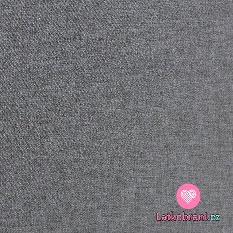 Softshell šedý melír s fleecem
