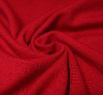 Jednobarevný úplet červeno-bordový 200g
